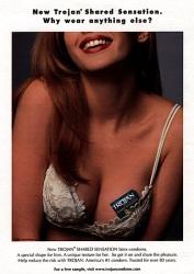 1990s USA Trojan Magazine Advert