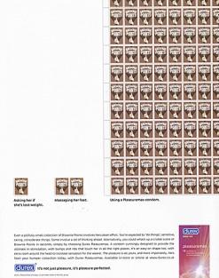 2000s UK Durex Magazine Advert