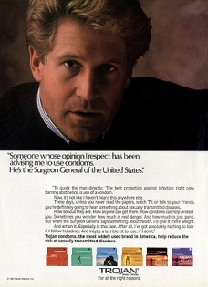 1980s USA Trojan Magazine Advert