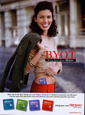 2000s USA Trojan Magazine Advert