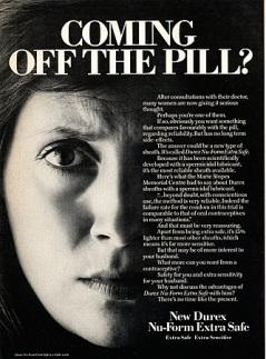 1970s UK Durex Magazine Advert