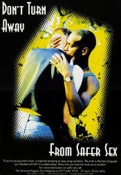 1990s UK Terrence Higgins Trust Poster