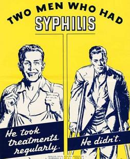 1940s USA STDs Poster