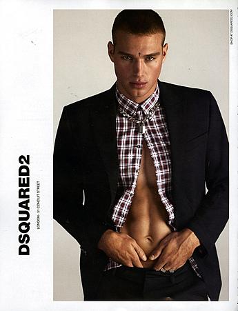 2010s UK Dsquared2 Magazine Advert