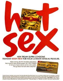 1990s USA Trojan Supra Magazine Advert