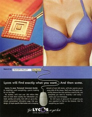 1990s USA Lycos Magazine Advert